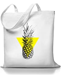 Kane Grey - Cumshot Ananas - Jutebeutel - Weiß