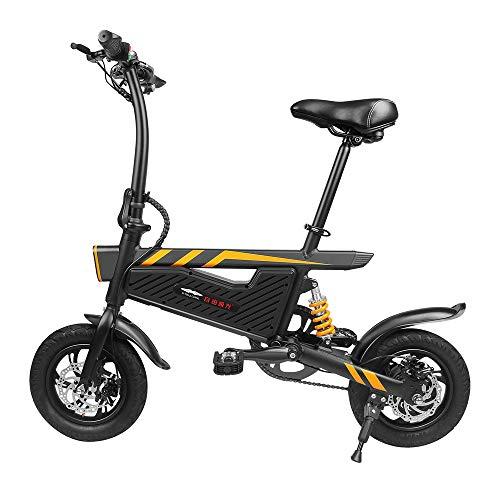 ZIYOUZHIGUANG Elektrofahrrad E-Bike mit 36V 250W Heckmotor 15.75 Zoll Rad 20°Steigender Winkel Mechanische 40km Fahrstrecke 4 Stunde Schnelle Aufladung Stoßdämpfung