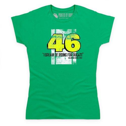 Valentino Rossi Tshirt Damen Keltischgrn Europeanbusinessdatabase Eu
