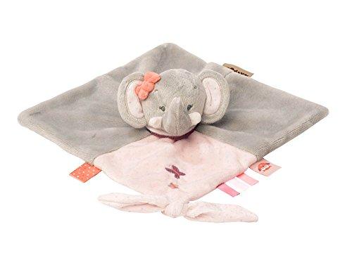Nattou Schnuffeltuch Mädchen, 30 x 30 cm, rosa - Adèle der Elefant