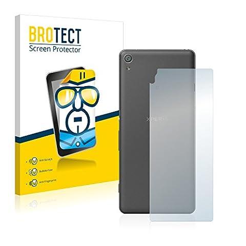 2x BROTECT HD-Clear Displayschutzfolie Sony Xperia XA (Rückseite) Schutzfolie Folie - Klar,