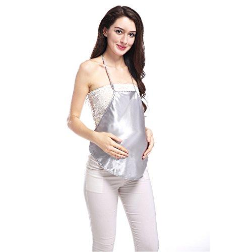 Silber Ionen Faser Anti-Strahlung Mutterschaft Kleidung Schutz Shild QM002 (Damen Dry-faser)