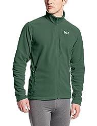 Helly Hansen Daybreaker–Forro polar para hombre forro polar, hombre, color verde jungla, tamaño small