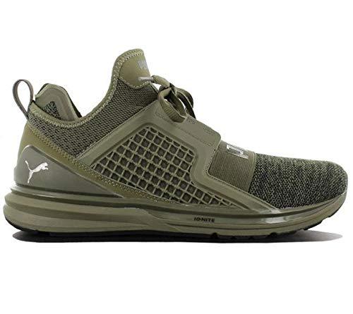 Puma sneakers ignite limitless knit verde militare 189987-03 - 44.5, verde militare