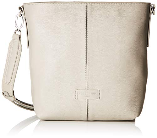 men Essential Crossbody Medium Umhängetasche, Grau (String Grey), 10x27x23 cm ()