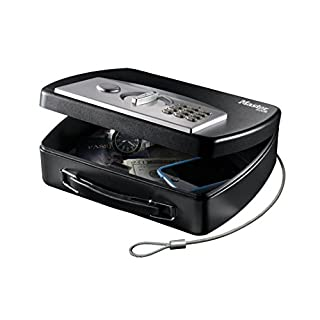 Portable Digital Combination Lock Box to secure your valuables while travel