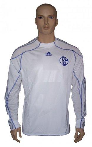 adidas FC Schalke 04 3rd Langarm Trikot Saion 2010 / 2011 ohne Sponsor, Größe:XXL (Langarm 3rd)
