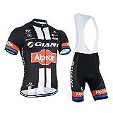 Männer Fahrrad-Club Cycling Team Bekleidung Jersey Shirts kurze Hosen Set Sportbekleidung