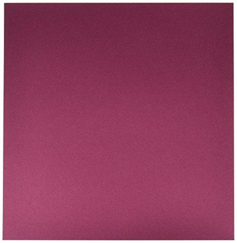 Bazzill Basics 25 Blatt Papier für Scrapbooking Leinwand-Textur, Sweetheart -