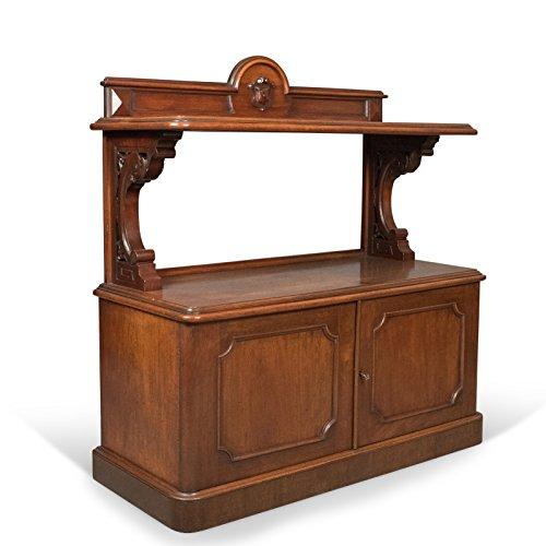 London Fine Antiques Antik Buffet, Schottische Server Schrank, Mahagoni, Mitte viktorianischen c.1870 -