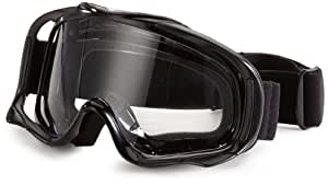 protectWEAR CB-SW Cross Goggle with Helmet Sights, Black, M