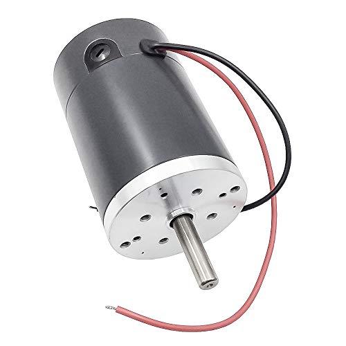 12 V 24 V DC Elektromotor High Speed   Reversible Ersatzmotor mit Durchmesser 60mm für RC Boot Spielzeug Modell DIY Hobby (2000 rpm, 12 Volt)