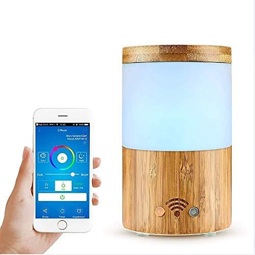 Smart WiFi Wireless Aromatherapie mit ätherischen Ölen Diffusor-Kompatibel mit Alexa & Google Home - Telefon-App & Sprachsteuerung