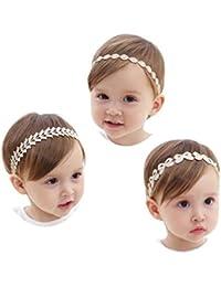 JMITHA Bambino fascia Fasce di fiore della neonata Cerchietto elastico  Accessori per capelli a fiori 59a61493cebe