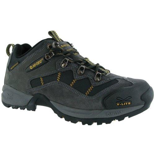 Hi-Tec Fast Hike 2/Malvern - Chaussures montantes de randonnée - Homme Noir/Gris foncé