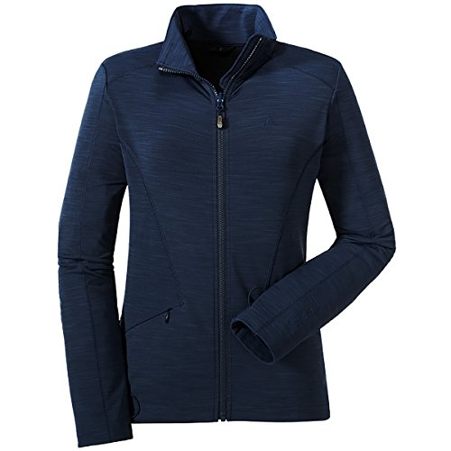 Schöffel Damen ZipIn Tokio Fleece, Dress Blue, 42 -