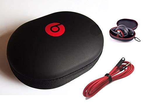 Matte Kopfhörer Hülle für Monster Beats Studio von Dr. DRE, kabelgebunden oder kabellos HD Studio und Beats Solo Kopfhörer. Inklusive 1 x 3,5 mm Winkel-Stereo-Audiokabel (122 Zoll) by: BuyGeneral