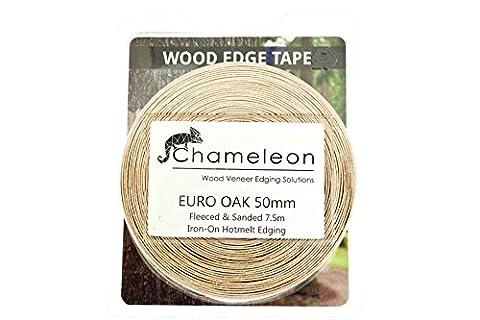 Bordure de Placage en bois de chêne européen/placage Edge Bande