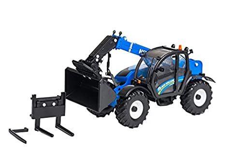 'Britains 1:32 New Holland Replica LM7.42 Telehandler Collectable Farm Toy