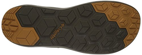 Columbia Techsun, Sandlai Sportivi Uomo Marrone (Mud, Canyon Gold)