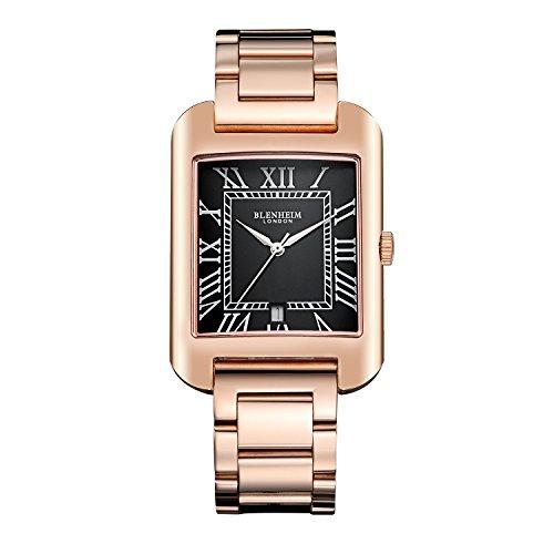 blenheim-londonr-b3180-curve-or-rose-montre-noir-avec-chiffres-romains-avec-argent-mains-avec-bracel