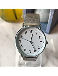 Zxzays Moda árabe números Mujeres Reloj de Lujo Ultrafino Reloj de Pulsera de Cuarzo Dama Reloj