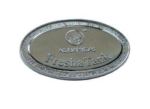 Aquamidas FreshaTank Water Tank Cleaner And Freshener | Anti-Microbial Disc For Fresh Clean Odour Free Water | Fish Tank…