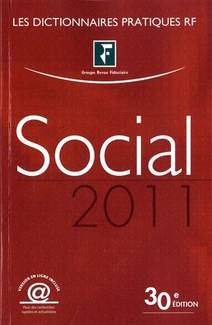 Dictionnaire Social 2011: Version en ligne incluse