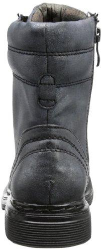 Marco Tozzi 2-2-25251-31 Damen Combat Boots Schwarz (BLACK METALLIC 041)