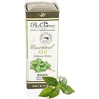 Preisvergleich für Essential oil of basil 5ml (100% Natural from Crete) / Ätherisches Öl Basilikum zur äußeren Anwendung (5ml)