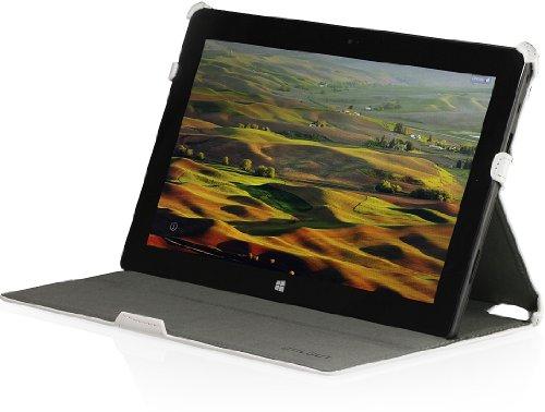 StilGut UltraSlim Case mit Stand- & Präsentationsfunktion Hülle für Microsoft Surface RT, weiß