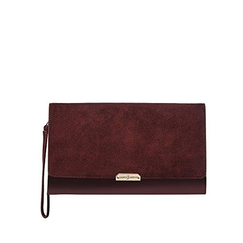 j-by-jasper-conran-womens-dark-red-suede-clutch-bag