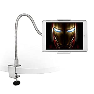 41ypXwp99HL. SS300 AboveTEK Supporto Tablet, Collo Oca Supporto Regolabile, Braccio Lungo Pesante Supporto per Tablet, iPhone, iPad