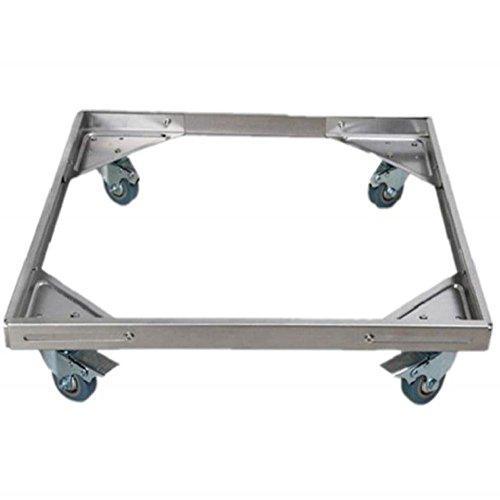 Vertikale Gefrierschrank Rack (Feuchtigkeitsgeschützte Halterung Einstellbare Geräte Roller Trolley Räder Basisrollen Für Waschmaschine Kühlschränke Gefrierschrank Wäschetrockner)
