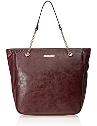 Caprese Monica Women's Tote Bag (Burgundy)