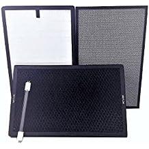 Ozono Hogar Kit recambios filtros y UV Purificador de Alergias Andrómeda