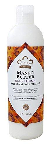Mango Butter Lotion, mit Sheabutter Vitamin C - Nubian Heritage - Anzahl 1 (Heritage-mango-butter Nubian)