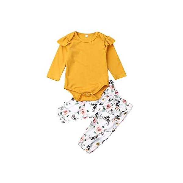 K-Youth Traje Bautizo Recien Nacido Ropa Bebe Niña Body Bebe Manga Larga Mono Bebé Reborn Mameluco Ropa Bebe Recien… 2