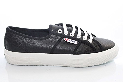Superga 2750 Ukfglu, Baskets Basses Mixte Adulte Black