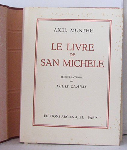 Le livre de San Michele 2 volumes