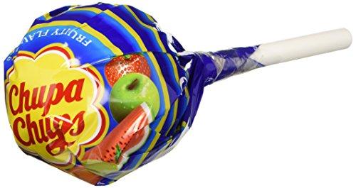 Chupa Chups Lollipop Mega Chups - Confezione da 10 Pezzi