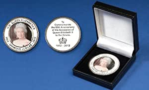 HM Queen Elizabeth II Diamond Jubilee Collectors Coin in Presentation Box