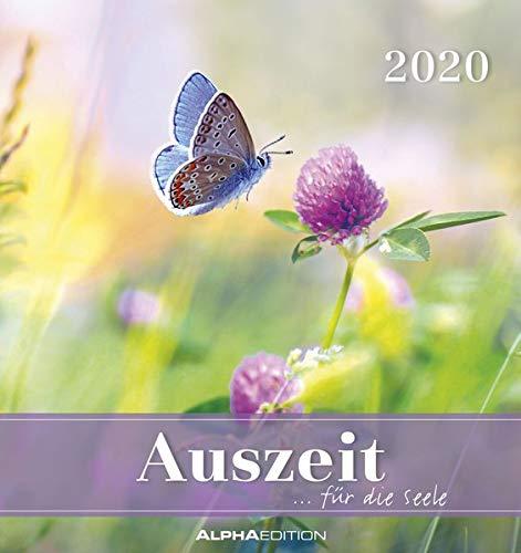 Auszeit für die Seele 2020 - Postkartenkalender (16 x 17) - zum aufstellen oder aufhängen - Geschenkidee - Gadget