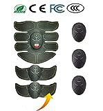 ARZ ELETTROSTIMOLATORE Muscolare Ultima Versione Unisex a batterie Senza Fili qualità ABS elettrostimolatore Professionale per POTENZIAMENTO Muscolare TONIFICARE Rimuovere ADIPE PREVENIRE SMAGLIATURE