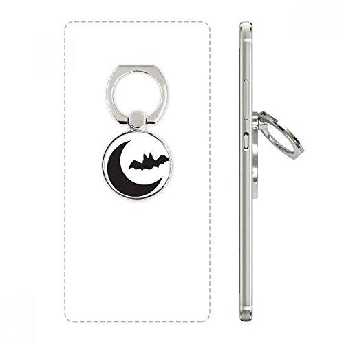 DIYthinker Mond Schläger glückliche Angst Halloween Handy-Ring Ständer Halter Halterung Universal-Smartphones Unterstützung Geschenk Mehrfarbig