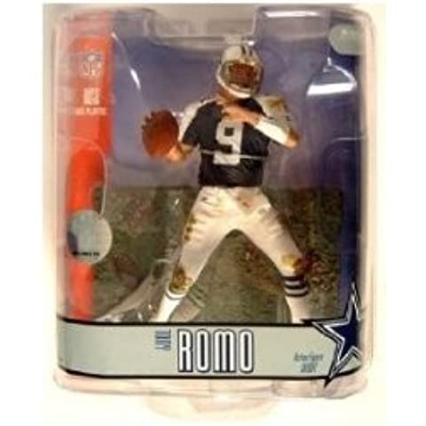 Tony Romo Blue Jersey Variant Chase Dallas Cowboys #9 McFarlane NFL Series 15 Action Figure by