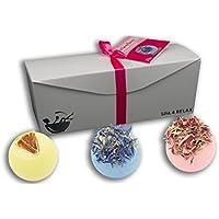 Spa 4 Relax de baño Bombones Sweet Scoop Berry regalo ...