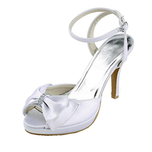 Minitoo , Sandales pour femme Ivory-10cm Heel