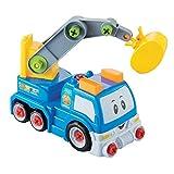 iBaste_top Mini-Technikfahrzeug Mini Schrauben Abnehmbare Technik Fahrzeuge intellektuelle Entwicklung Kinderspielzeug