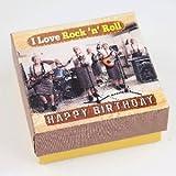 Musikschachtel 5580-003 zum Geburtstag I Love Rock `n`Roll